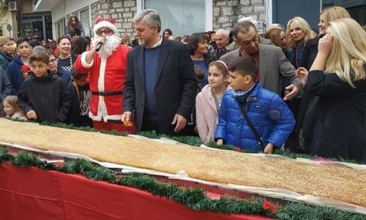 Θεσπρωτία: Μελομακάρονο για Γκίνες στην Παραμυθιά