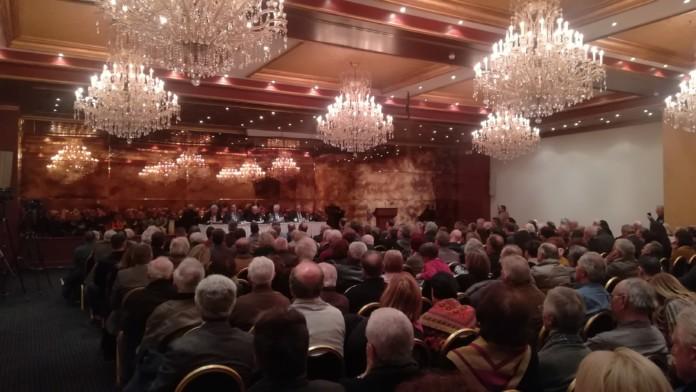 Γιάννενα: Με μεγάλη συμμετοχή η εκδήλωση για το βιβλίο του Κ. Γάτσιου και του Δ. Ιωάννου «Ζήτημα εθνικής επιβίωσης»