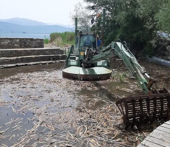 Γιάννενα: Ολοκληρώνεται η παρέμβαση στο λιμανάκι