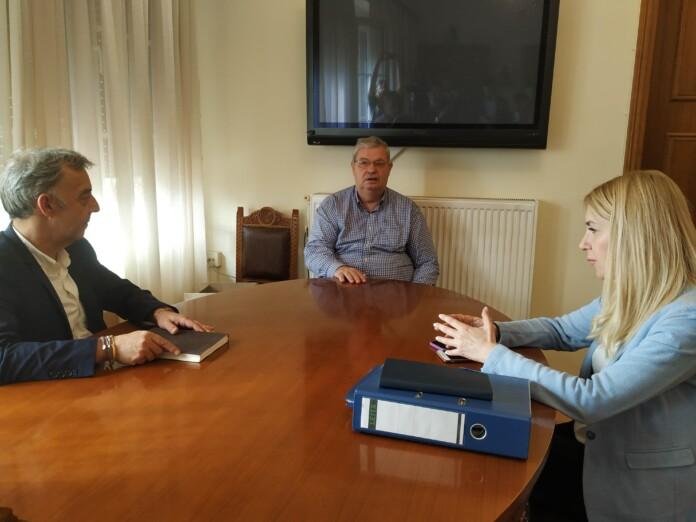 Ήπειρος: Η προστασία των προϊόντων Π.Ο.Π στο επίκεντρο της συνάντησης Καχριμάνη- Αραμπατζή