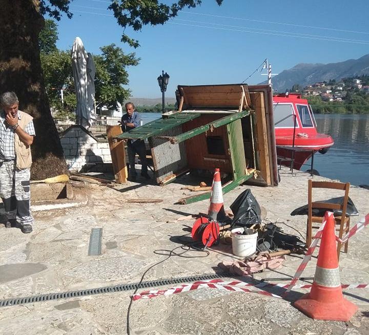 Γιάννενα: Απομακρύνθηκε ένα ακόμη κλειστό περίπτερο