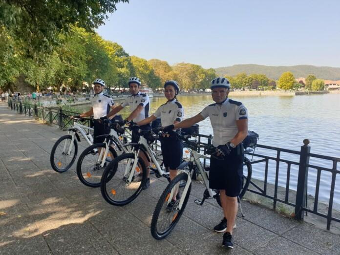 Γιάννενα: Αστυνομικοί ποδηλάτες και στα Γιάννενα